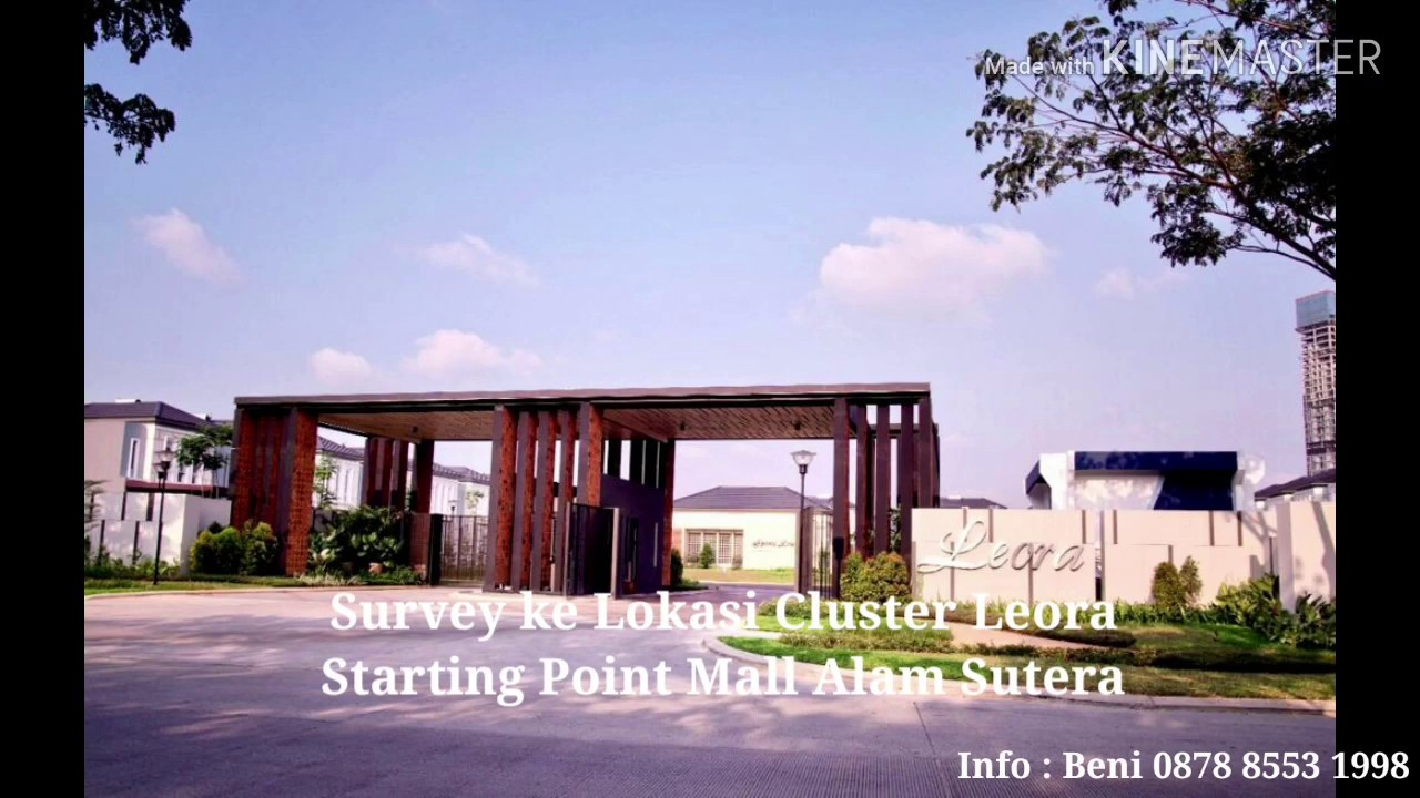 Survey Kavling Alam Sutera Lokasi di Cluster Leora Hanya 4 ...