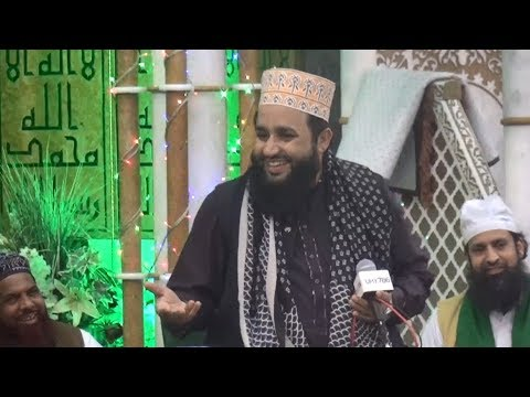 Khalid Hasnain Khalid at Peterborough Mehfil-e-Naat 2018 (OFFICIAL)