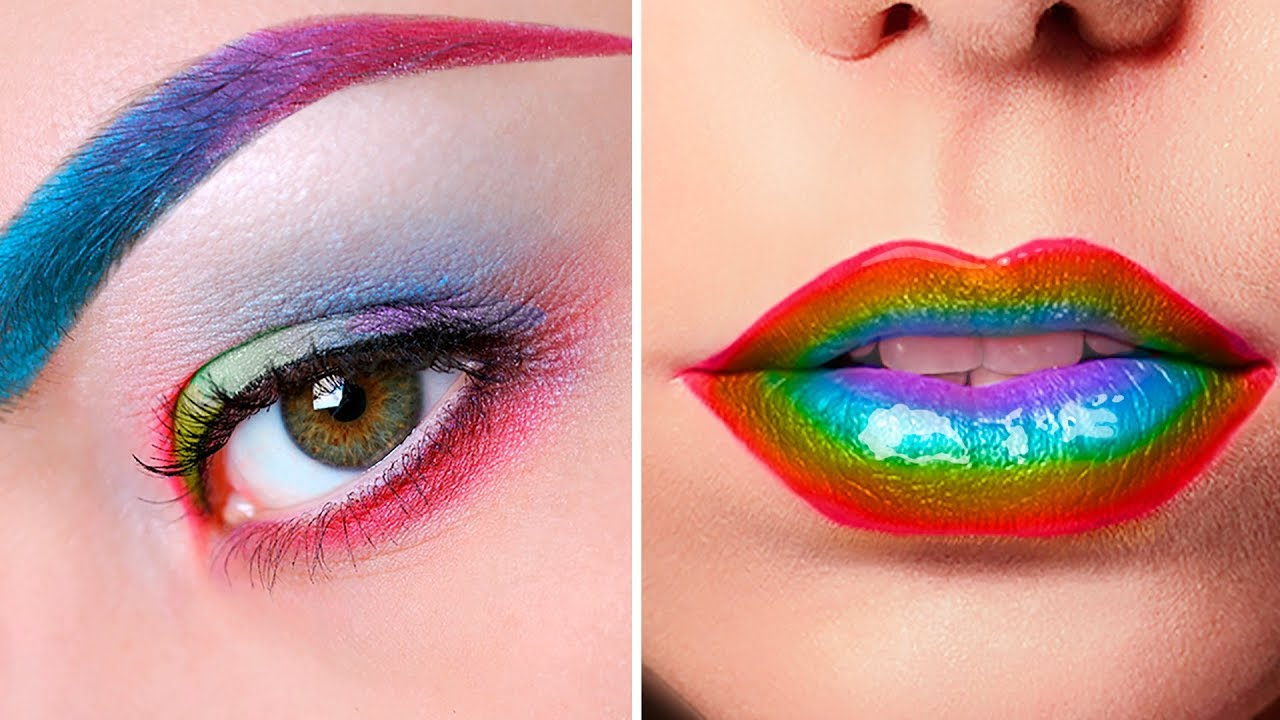 15 COLORFUL RAINBOW MAKEUP YOU HAVE TO TRY