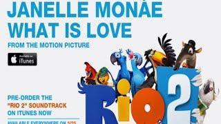Janelle Monáe - What Is Love (Lyrics)