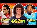 10 Craziest Transfer Fees in Football History! | Radamel Falcao, David Luiz & Robinho