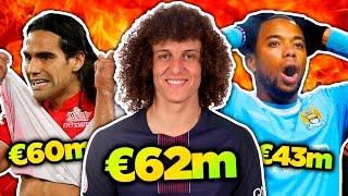 Baixar 10 Craziest Transfer Fees in Football History! | Radamel Falcao, David Luiz & Robinho