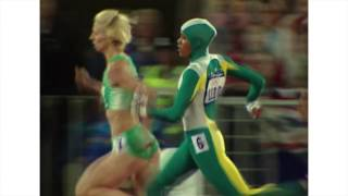 Cathy Freeman 400m Sydney Olympics with Bruce McAvaney commentating. Top 10 Video