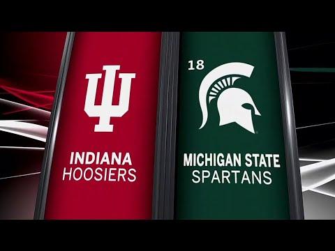 Indiana at Michigan State - Football Highlights
