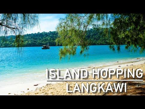 Island hopping in Langkawi