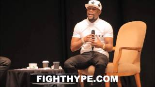 floyd mayweather says amir khan thinks he can fight canelo like him warns should have fought brook