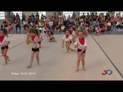 Funes, Exhibición Gimnasia Rítmica Fin De Curso 2019 30/05/19
