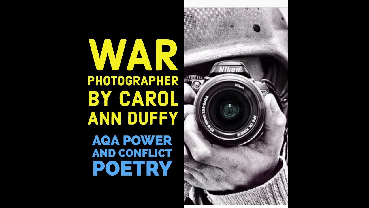 war photographer carol ann duffy essay