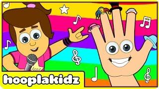 Nursery Rhymes Mashup   Where is Thumbkin and More Popular Kids Dance Songs by HooplaKidz