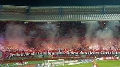 1. FC Nürnberg 2:0 Dynamo Dresden 20.12.2019 Choreo, Pyroshows & Support