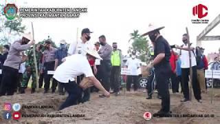 """Pembukaan Kampung Tangguh Nusantara """"TANGKIT"""" di Desa Pawis Hilir, Kecamatan Jelimpo"""