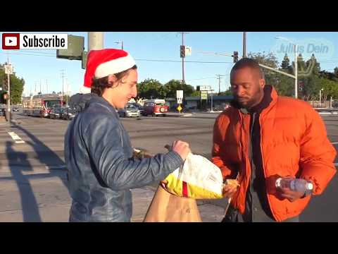 Top 4 DES PLUS BEAU GESTE POUR LES SDF!!! /Top 4 OF MOST BEAUTIFUL HELPING HOMELESS VIDEOS!!!