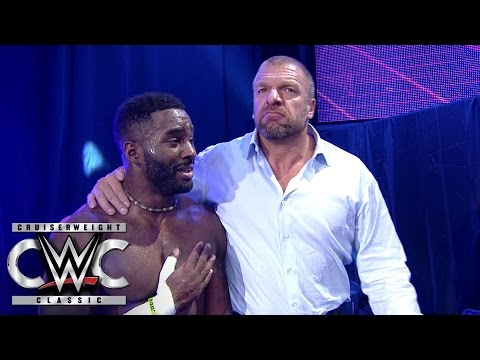 Cedric Alexander earns the respect of Triple H and the fans:  Cruiserweight Classic, Aug. 10, 2016