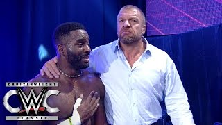 cedric alexander earns the respect of triple h and the fans cruiserweight classic aug 10 2016