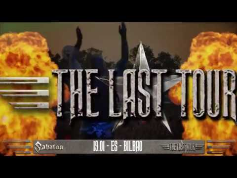 THE LAST TOUR in Europe 2017!