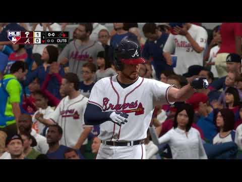 MLB The Show 18 Opening Day Preview Philadelphia Phillies vs Atlanta Braves