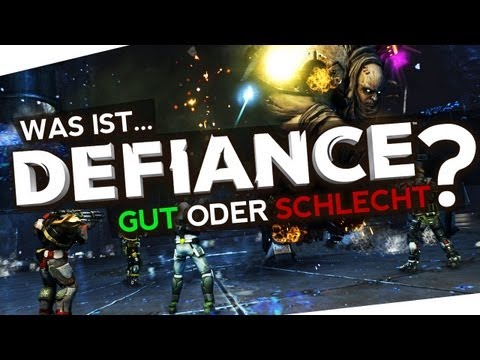 Was ist DEFIANCE? MMO-Shooter zur TV-Serie, Info-Video! Review