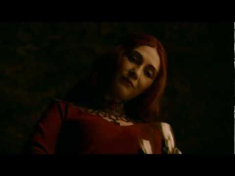 Short Clip of Carice van Houten as Melisandre on Game of Thrones Season 2