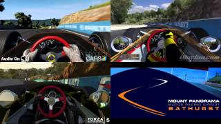 Project Cars vs iRacing vs Forza Motorsport 5 - Lotus 49 @ Bathurst