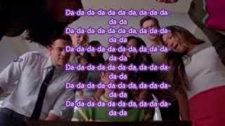 Take On Me Glee Cast Lyrics