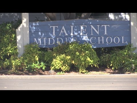 School district increases security measures at Talent Middle School