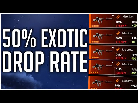 EXOTIC DROPS GOT A STEALTH BUFF In The Division 2!