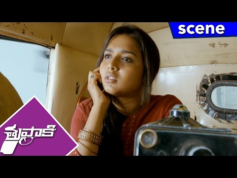 Vidyut Jamwal Kidnap's Vijay's Sister and Four Others - Adventure Scene - Thuppakki Movie Scenes