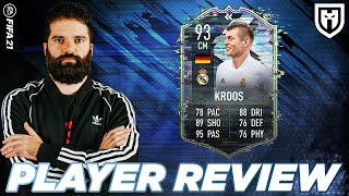 TONI KROOS 93 MI HA SORPRESO! /// FIFA 21 PLAYER REVIEW