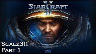 Starcraft 2 Wings of Liberty Playthrough Walkthrough Part 1 - Liberation Day