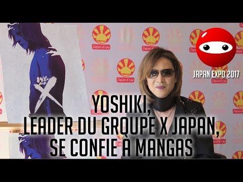[Japan Expo 2017] Yoshiki, leader emblématique du groupe X Japan, se confie à Mangas - Mangas