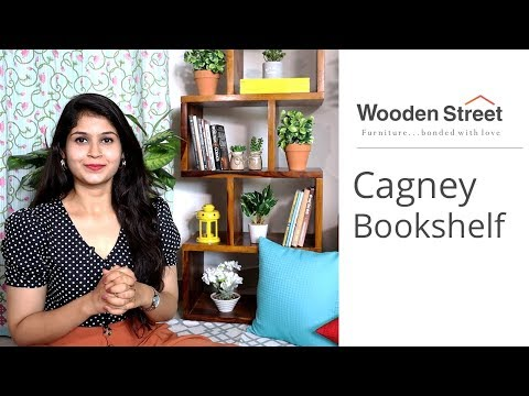 Bookshelf Design: Cagney Bookshelf For Home | Bookshelf Tour 2019 | Book Rack Design