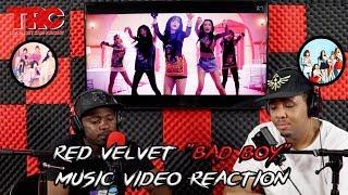 """Red Velvet """"Bad Boy"""" Music Video Reaction"""