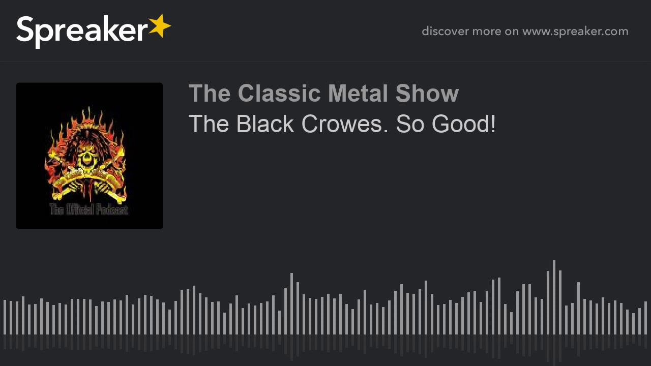 The Black Crowes  So Good