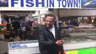Fish Market Man Singing £1 Fsh Song - HQ 720