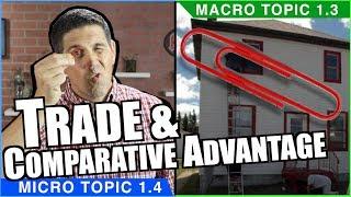 Comparative Advantage and Trade - Macro Topic 1.3 (Micro Topic 1.4)
