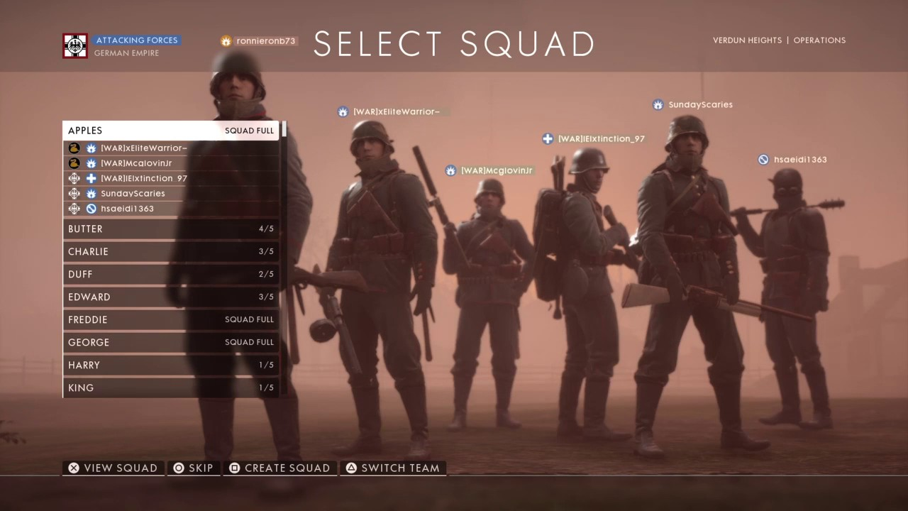 you are already matchmaking bf1