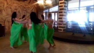 Взрослый ансамбль школы восточных танцев