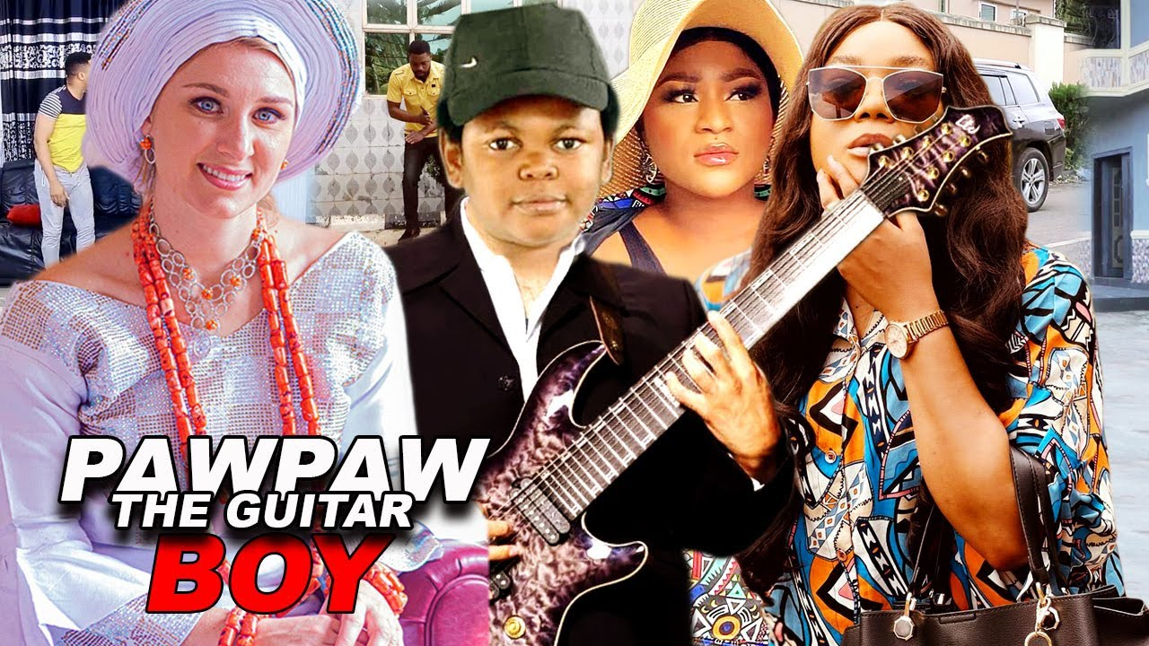 Download How Pawpaw The Guitar Boy Made The White Woman To Fall In Love With Him  2021 Latest Nigerian Movies