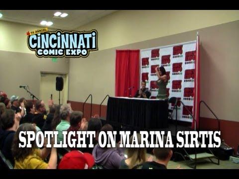 Spotlight on Marina Sirtis Panel