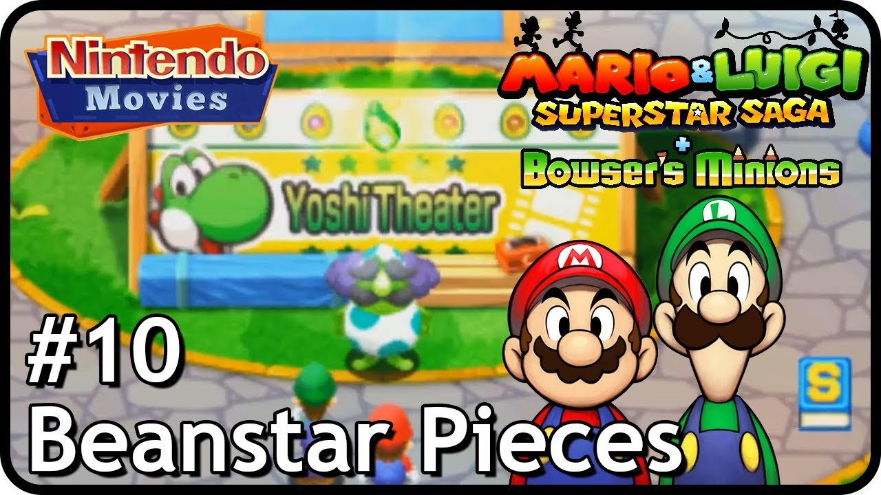 Mario Luigi Superstar Saga Bowser S Minions M L Episode 10 Beanstar Pieces