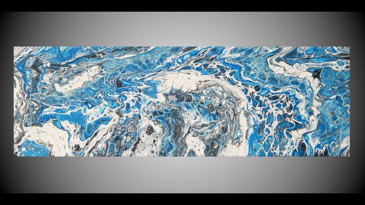 Acrylic Pour Painting Abstract Painting Wall Art Home Decor Fluid