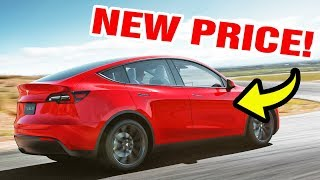 Tesla Model Y Prices Change 2 Weeks After the Unveiling