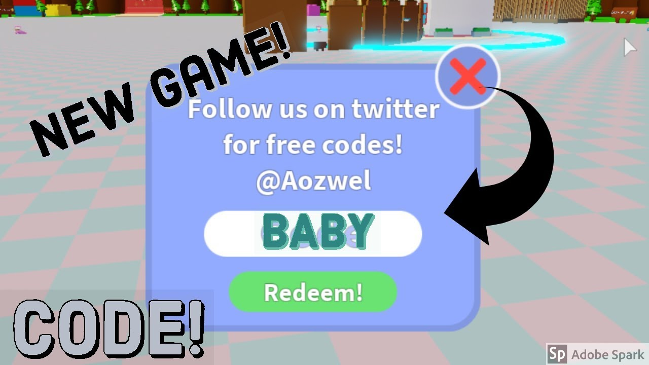 Code For Baby Simulator Roblox Youtube
