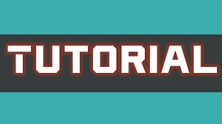 Туториал #2 Как рисовать символами