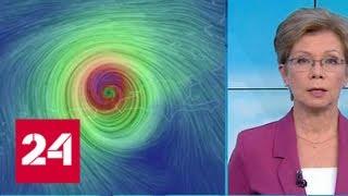 """""""Погода 24"""": ураган """"Мария"""" едва не уничтожил Пуэрто-Рико - Россия 24"""