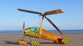 RC Autogyro, 'Cruiser' at the beach!