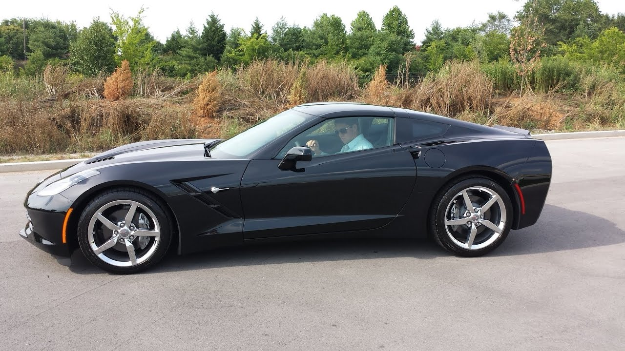 sold 2014 CHEVROLET CORVETTE STINGRAY 2LT BLACK AUTOMATIC FOR SALE