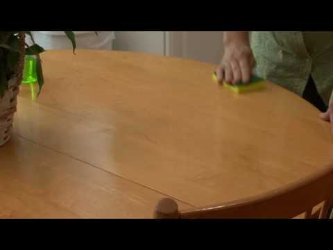 general housekeeping how to clean a kitchen table youtube