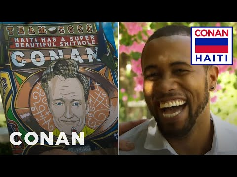 Conan Appoints Thony Loui As His Official Portrait Artist - CONAN on TBS