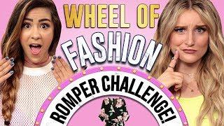 ROMPER CHALLENGE?! Wheel of Fashion w/ Cassie Diamond & Caroline Tucker